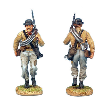 ACW009 CONFEDERATE INFANTRY ADVANCING