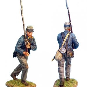ACW018 CONFEDERATE INFANTRY ADVANCING