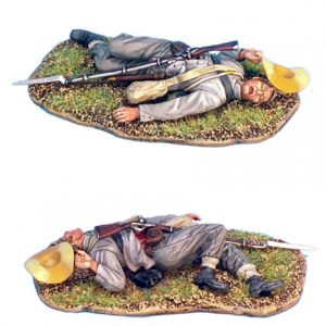 ACW022 CONFEDERATE INFANTRY DEAD
