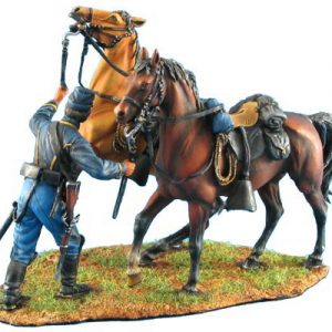 ACW038 UNION DISMOUNTED CAVALRY HORSE HOLDER