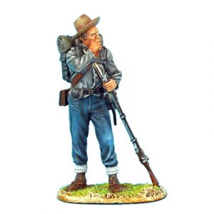 ACW045 CONFEDERATE INFANTRY STANDING LOADING
