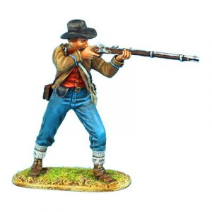 ACW047 CONFEDERATE INFANTRY STANDING FIRING