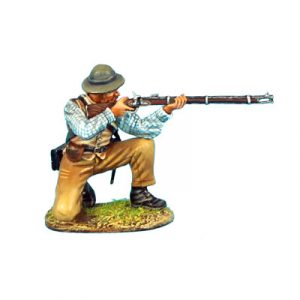 ACW048 CONFEDERATE INFANTRY KNEELING FIRING