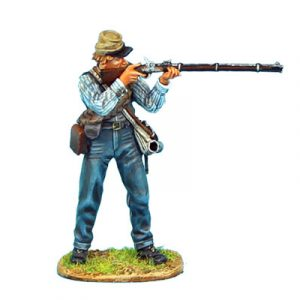 ACW049 CONFEDERATE INFANTRY STANDING FIRING