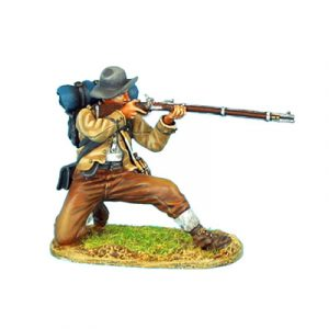 ACW052 CONFEDERATE INFANTRY KNEELING FIRING