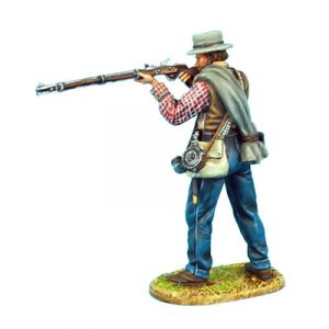 ACW054 CONFEDERATE INFANTRY STANDING FIRING