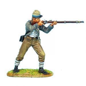 ACW055 CONFEDERATE INFANTRY STANDING FIRING