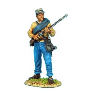 ACW058 CONFEDERATE INFANTRY STANDING READY