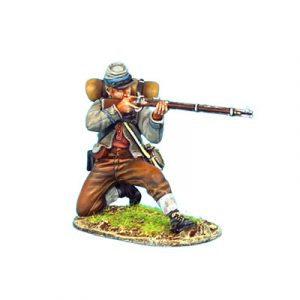 ACW059 CONFEDERATE INFANTRY KNEELING FIRING