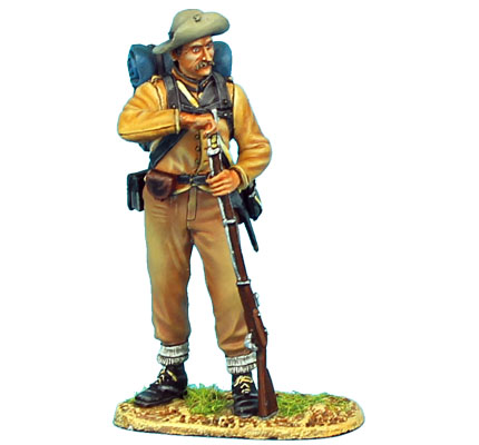 ACW060 CONFEDERATE INFANTRY STANDING LOADING