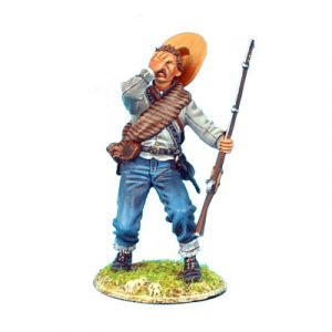 ACW061 CONFEDERATE INFANTRY FALLING SHOT