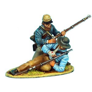 ACW062 CONFEDERATE INFANTRY TWO FIGURE VIGNETTE