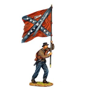 ACW090 CONFEDERATE STANDARD BEARER - 5TH TEXAS INFANTRY