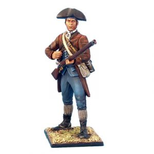 AWI007 CONTINENTAL MILITIA STANDING COCKING MUSKET