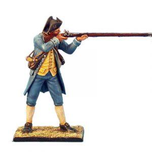 AWI014 Continental Militia Standing Firing