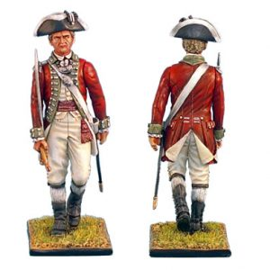 AWI022 BRITISH 5TH FOOT OFFICER WITH SWORD