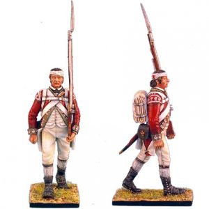 AWI034 BRITISH 5TH FOOT GRENADIER MARCHING WITH BANDAGED HEAD