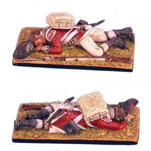AWI038 BRITISH 5TH FOOT GRENADIER DEAD