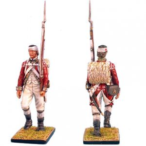 AWI039 BRITISH 5TH FOOT GRENADIER MARCH ATTACK WITH BANDAGED HEAD
