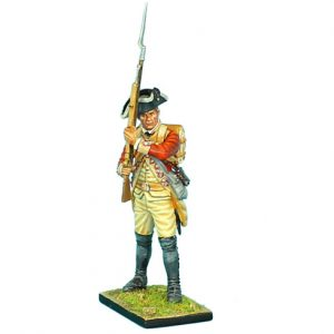 AWI052 BRITISH 22ND FOOT STANDING READY - HEAD VARIANT #2