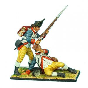 AWI069 HASLETS 1ST DELAWARE TWO FIGURE VIGNETTE
