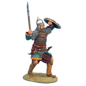 CRU036 MAMLUK WARRIOR WITH AXE AND SHIELD