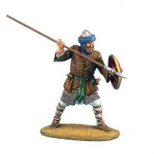 CRU037 MAMLUK WARRIOR WITH SPEAR AND SHIELD