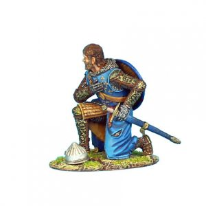 CRU055 CRUSADER KNEELING FRENCH KNIGHT