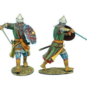 CRU067 MAMLUK WARRIOR ADVANCING WITH SWORD