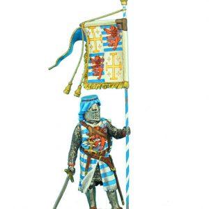 CRU068 KING HENRY II's STANDARD BEARER IN LUSIGNAN HERALDRY