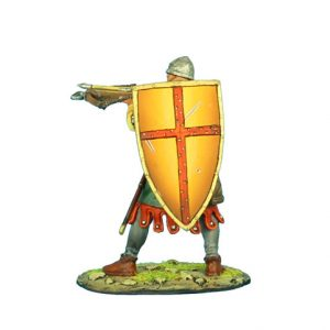CRU072 CRUSADER CROSSBOWMAN WITH IBELIN SHIELD