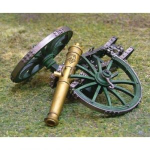 CS00390 French Guard Destroyed Cannon