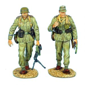 DAK010 DAS DEUTSCHE AFRIKA KORPS WALKING MG34 TEAM