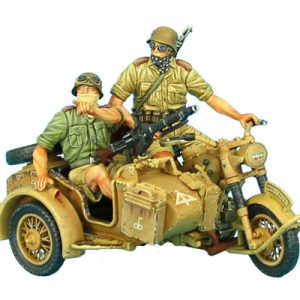 DAK015 GERMAN BMW R75 MOTORCYCLE COMBINATION - 15th PZ. DIVISION RECON