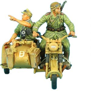 DAK016 GERMAN BMW R75 MOTORCYCLE COMBINATION - 21st PZ. DIVISION RECON
