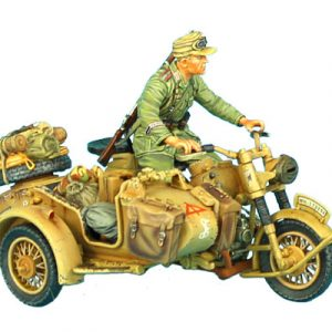 DAK017 GERMAN BMW R75 MOTORCYCLE COMBINATION - 15th PZ. DIVISION RECON HQ