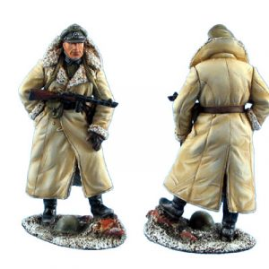 GERSTAL022 GERMAN HAUPTMANN IN RUSSIAN FUR LINED GREATCOAT