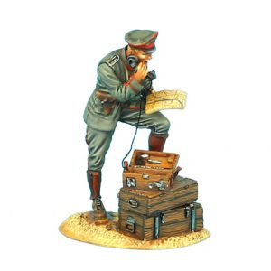 GW001 GERMAN OFFICER ON PHONE - 62nd INFANTRY DIVISION
