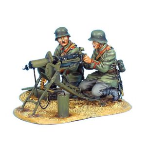 GW008 GERMAN MACHINEGEWEHR 08 TEAM - 62ND INFANTRY DIVISION