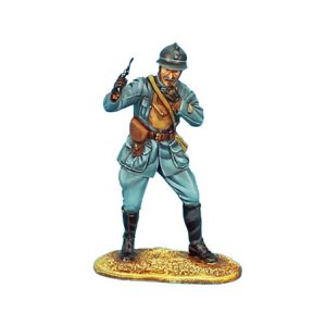 GW013 FRENCH OFFICER LEADING THE ATTACK - 34TH INFANTRY REGIMENT