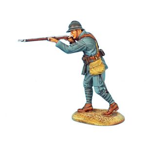 GW014 FRENCH INFANTRY ADVANCING FIRING - 34TH INFANTRY REGIMENT