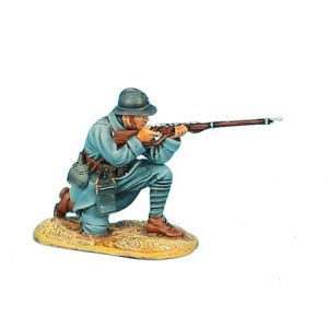 GW016 FRENCH INFANTRY KNEELING FIRING - 34TH INFANTRY REGIMENT
