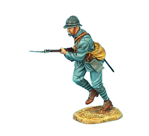 GW018 FRENCH INFANTRY CHARGING #1 - 34TH INFANTRY REGIMENT