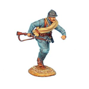 GW020 FRENCH INFANTRY CHARGING #3 - 34TH INFANTRY REGIMENT