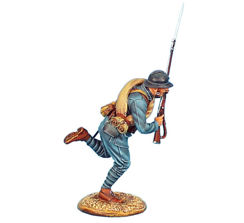 GW021 FRENCH INFANTRY CHARGING #3 - 34TH INFANTRY REGIMENT