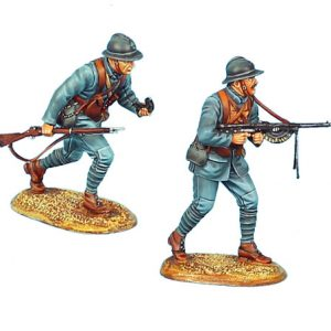 GW022 FRENCH INFANTRY MACHINE GUN TEAM - 34TH INFANTRY REGIMENT