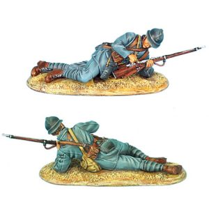 GW024 FRENCH INFANTRY LAYING LOADING - 34TH INFANTRY REGIMENT