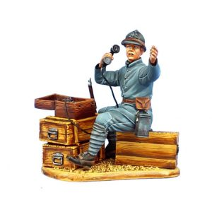GW038 FRENCH FIELD PHONE OPERATOR