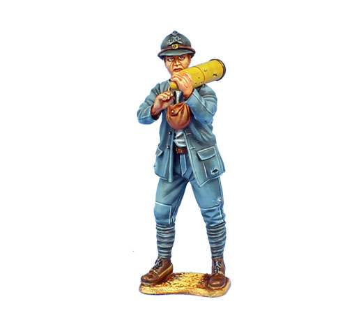 GW040 FRENCH ARTILLERY WITH SHELL