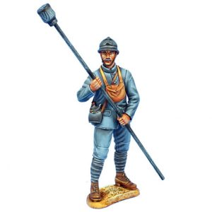 GW042FRENCH ARTILLERY CREW WITH SPONGE